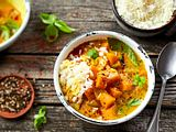 Kürbis-Curry ,,Der Colour-Booster'' Rezept