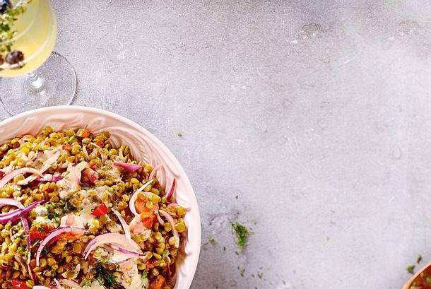 Linsen-Möhren-Salat Rezept-F8589501