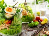 Lunch aus dem Glas: Chefsalat fürs Homeoffice Rezept