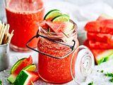Melon Mint Cooler Rezept