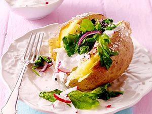 Ofenkartoffel für Sparfüchse Rezept