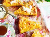 Polenta-Orangen-kuchen mit Mandeln Rezept