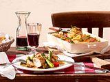 Pollo con aglio  al forno Rezept