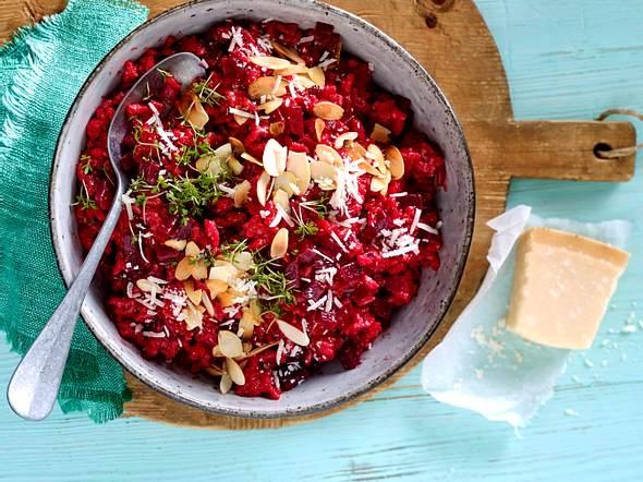 Power-Risotto mit Roten Beten Rezept