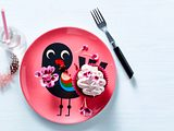 Rhabarber-Schoko-Cupcakes Rezept