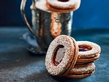 Süße Mohnbrunnen aus märchenhaftem Mürbeteig Rezept