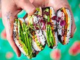 Sommer, Sonne, Sushi-Sandwich Rezept