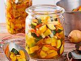 Suesssaure Zucchini Rezept