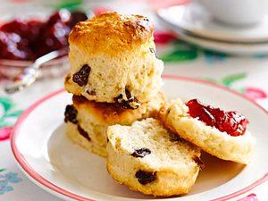Tea-Time-scones mit Vanille Rezept