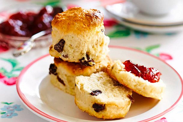 Tea-Time-scones mit Vanille Rezept