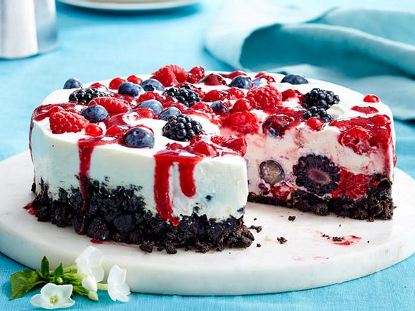 """This ain't nothing but a """"Summer Jam""""- Cheesecake rezept"""