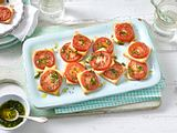 Tomaten-Blätterteig-Quadrate Rezept