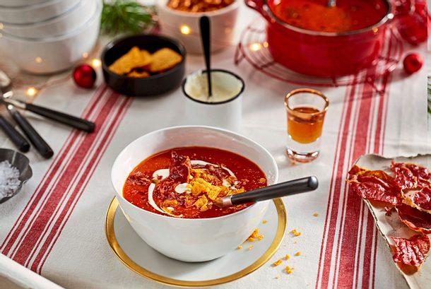 Tomatensuppe mit einem Hauch Zimt Rezept