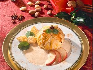 Äpfel im Schlafrock mit Zimtschaum Rezept