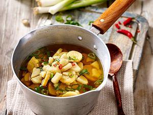 Afrikanische Yams-Suppe mit Kochbanane Rezept