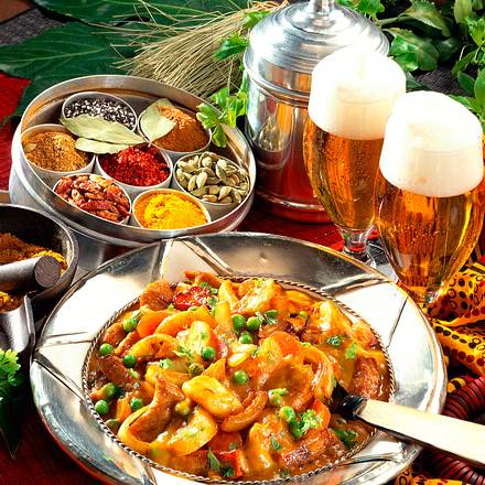 Afrikanisches Curryfleisch Rezept