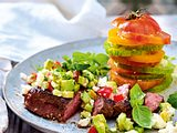 After-Gym-Steak unter Avocadosalsa rezept