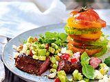 After-Gym-Steak unter Avocadosalsa rezept