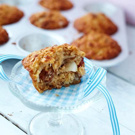 Ahorn-Walnuss-Muffins Rezept