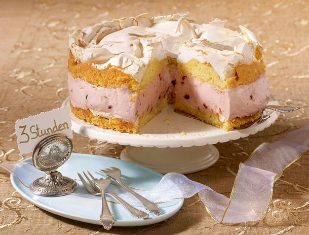 Amarena-Baiser-Torte Rezept
