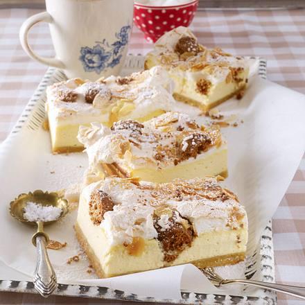 Amaretto-Käse-Schnitten Rezept