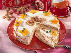 Amaretto-Quarksahne-Torte Rezept