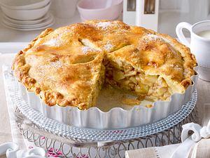American Apple Pie (gedeckter Apfelkuchen) Rezept