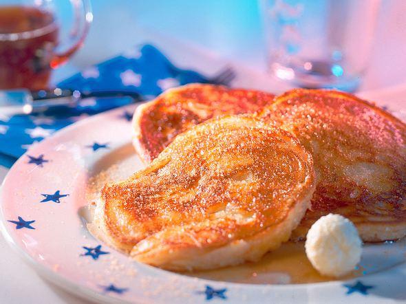 Amerikanische Buttermilch-Pancakes Rezept