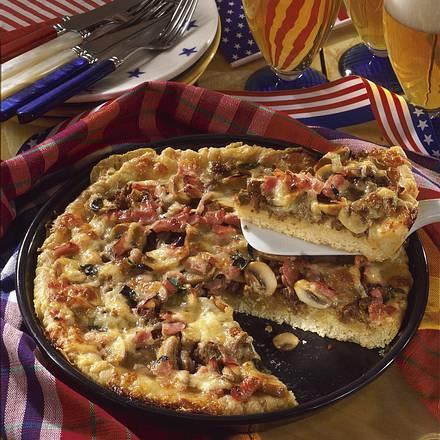 Amerikanische Pizza Rezept