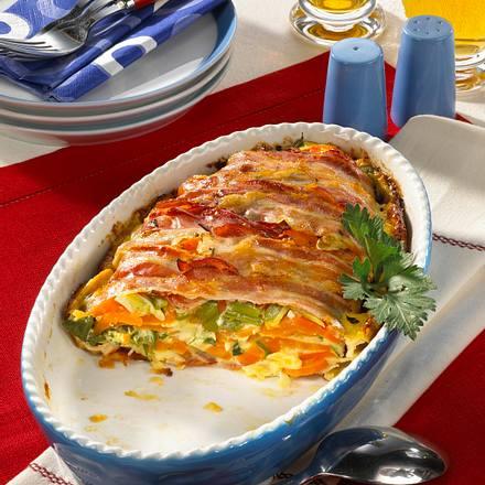 Amerikanischer Bacon-Auflauf Rezept