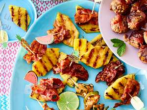 Ananas-Bacon-Happen rezept