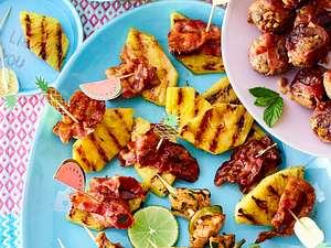 Ananas Bacon Happen Weiterlesen  C2 B7 Mammutladung Kasenachos Mit Gegrillter Ananas Rezept