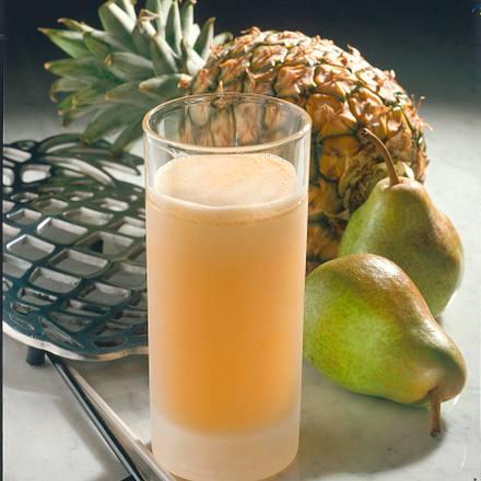 Ananas-Birnen-Drink Rezept