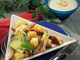 Ananas-Dattelfruchtsalat Rezept
