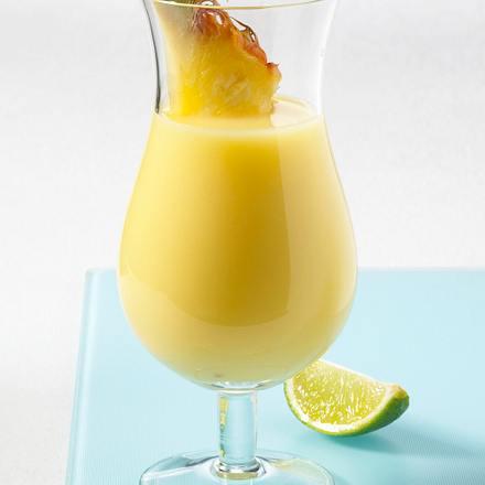 Ananas-Drink mit Buttermilch Rezept