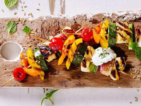 Ananas-Fleisch-Spieße vom Grill Rezept