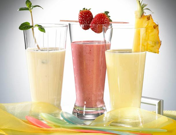 Ananas Joghurt-Drink Rezept