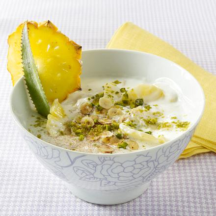 Ananas-Joghurt-Müsli Rezept