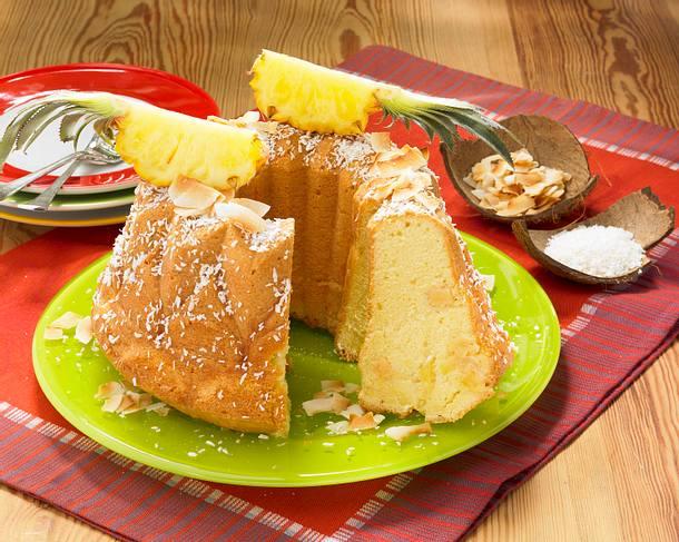 Ananas-Kokos-Napfkuchen (Diabetker) Rezept