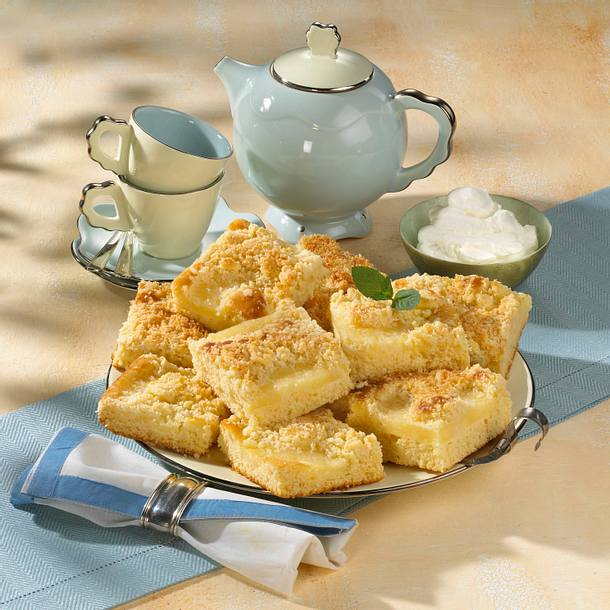 Ananas-Kokosstreuselkuchen (Diabetiker) Rezept