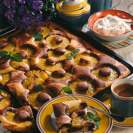 Ananas-Marmorkuchen (kalorienreduziert) Rezept