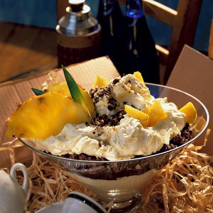 Ananas-Mascarpone-Creme Rezept