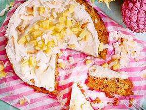 Ananas-Möhren-Kokos-Kuchen Rezept