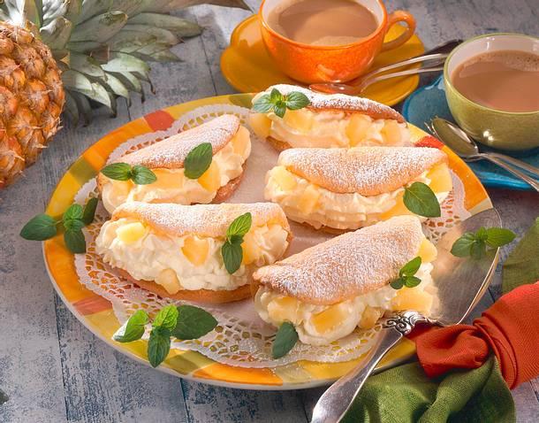 Ananas-Omelette Rezept
