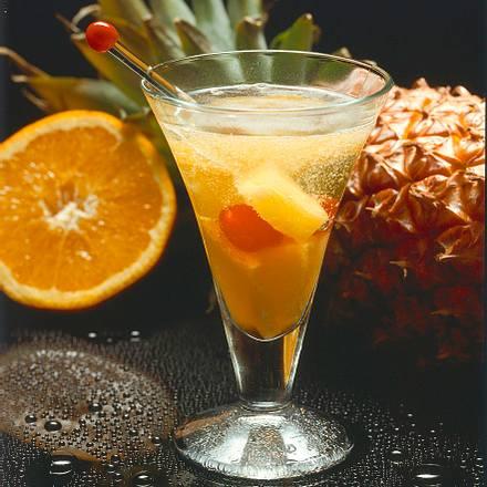 Ananas-Orangen-Bowle Rezept