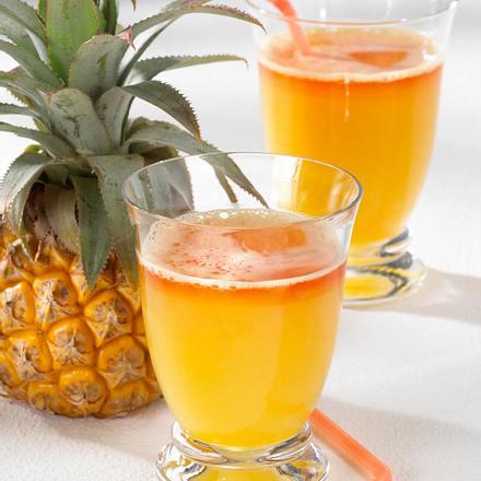 Ananas-Orangen-Flip Rezept