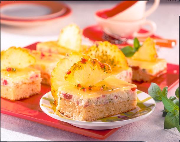 Ananas-Reis-Kuchen Rezept
