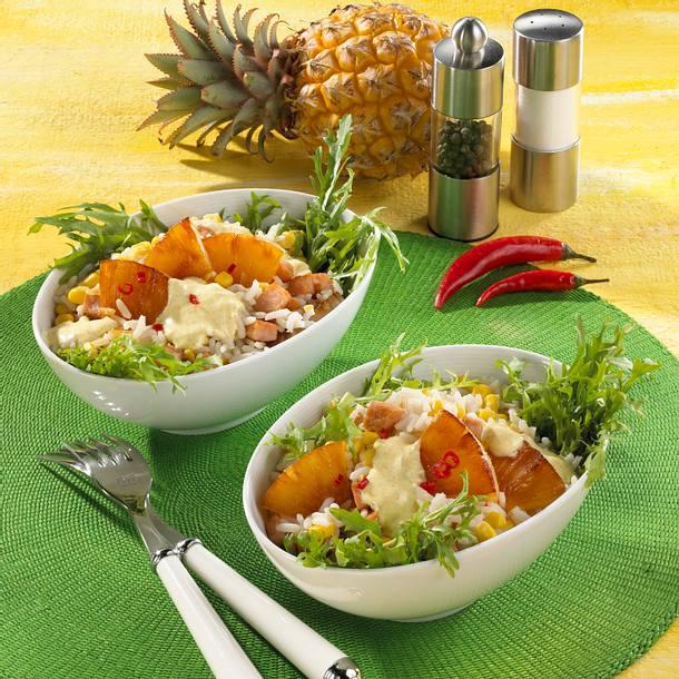 Ananas-Reissalat mit Kasseler Rezept