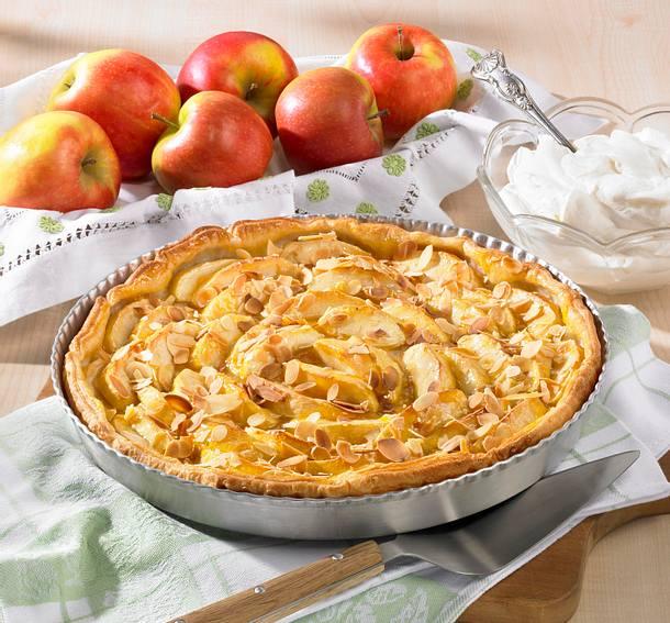 Apfel-Blätterteig-Tarte (Diabetiker) Rezept