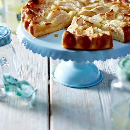 Apfel-Brause-Tarte Rezept